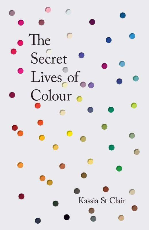 capas de livros the secret lives of colors