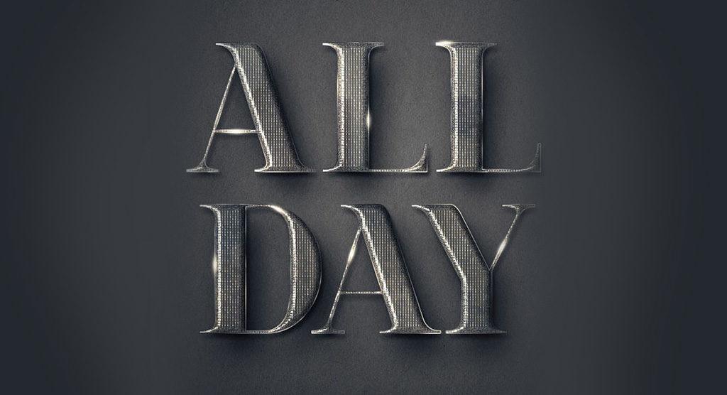 efeito-texto-photoshop-letras-metal-elegante
