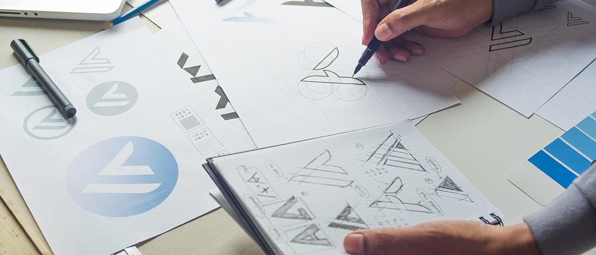 logo blog design com cafe