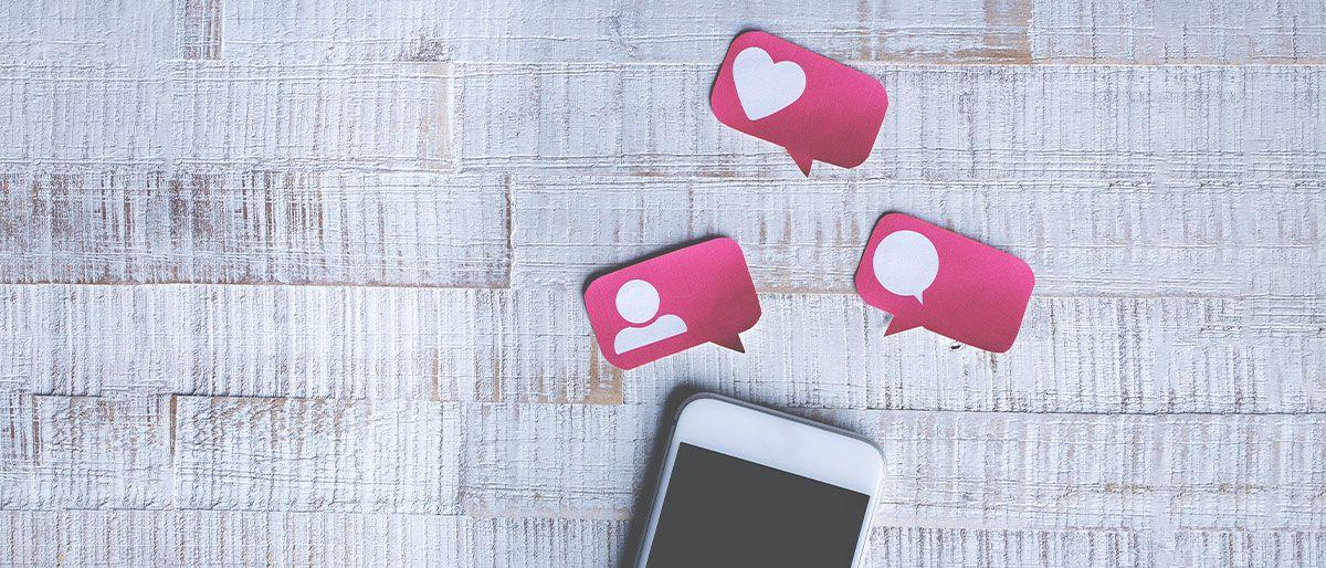 redes sociais blog design com cafe