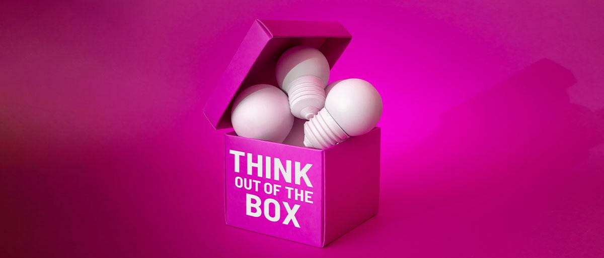 criatividade think out of the box design.com cafe 2