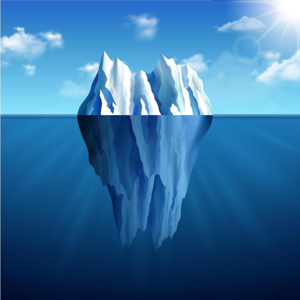 presenca digital iceberg