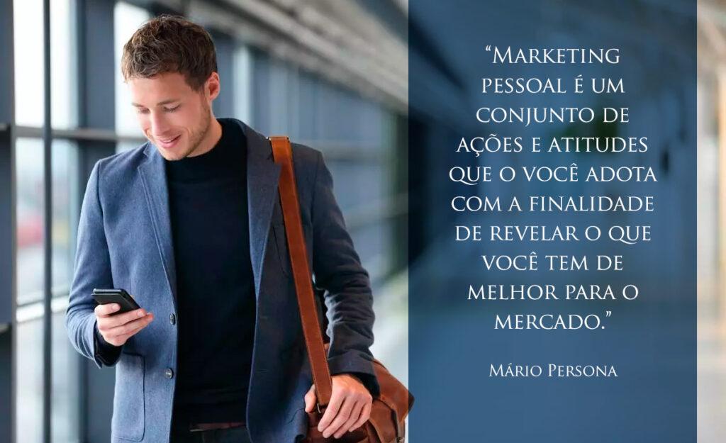 design marketing pessoal mario persona