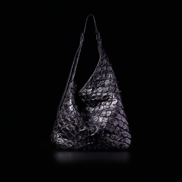 osklen bolsa de couro de pirarucu